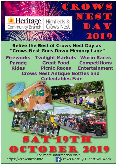 Crows Nest Day Flyer